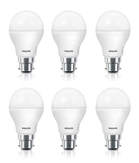 Lu Led Philips 9w philips 9w pack of 6 led bulbs buy philips 9w pack of 6
