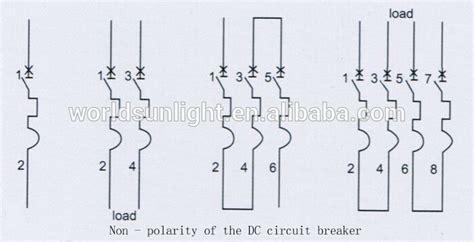 Mini Circuit Breaker 1p 2a Broco pv system din rail 1a 2a 3a 4a 5a 6a 10a 16a 20a 25a 32a