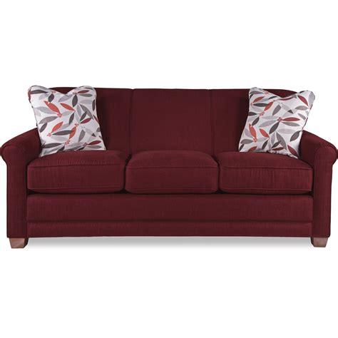 lazboy sleeper sofa la z boy amanda casual sleeper sofa with premier