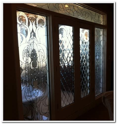 Homeofficedecoration French Doors Interior Beveled Glass Interior Leaded Glass Doors