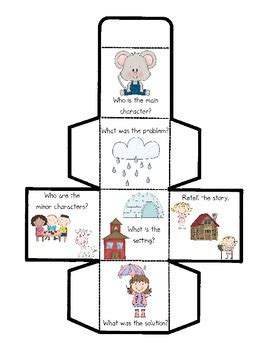 Comprehension Cube For Rockin Readers By Kelly And Kim S