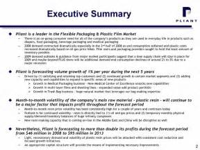 business plan executive summary template pliant corporation2009 2013 business plan summaryfebruary 2009