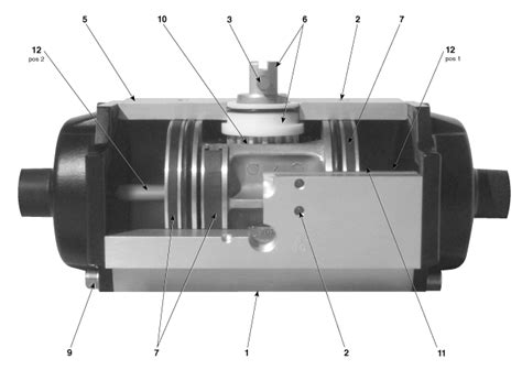 rack and pinion valve rack and pinion valve actuator cosmecol