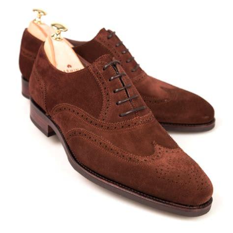 polo oxford shoes wingtip oxfords in polo suede carmina