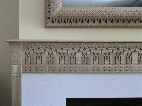Armands Fireplace by Armand Rateau Fireplace Mantel Carved Carved