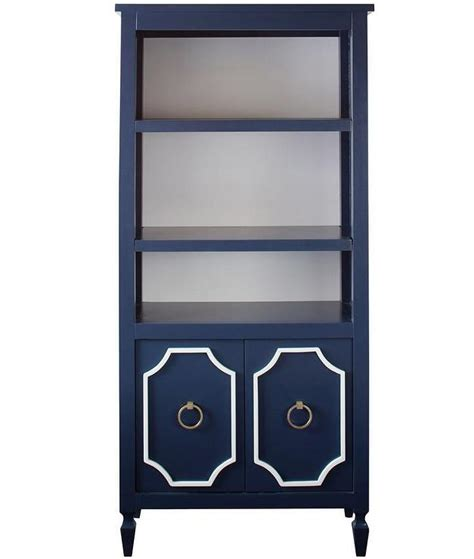 beverly navy bookcase i tatum