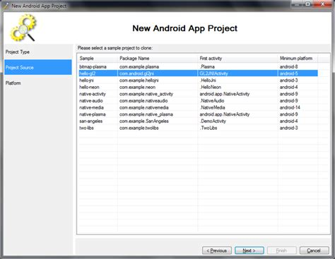 tutorial android visual studio debugging the hello gl2 project with visual studio