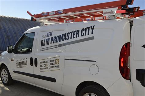 Dodge Promaster Ladder Rack by The Promaster City Can Be Upfitted With Ladder Racks Ram Promaster City Ride And Drive