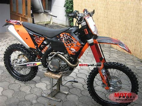 Ktm 450 Exc R Ktm 450 Exc R 2008 Specs And Photos
