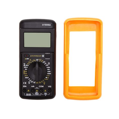Multimeter Digital Dt9205a syg digital multimeter dt9205a manual