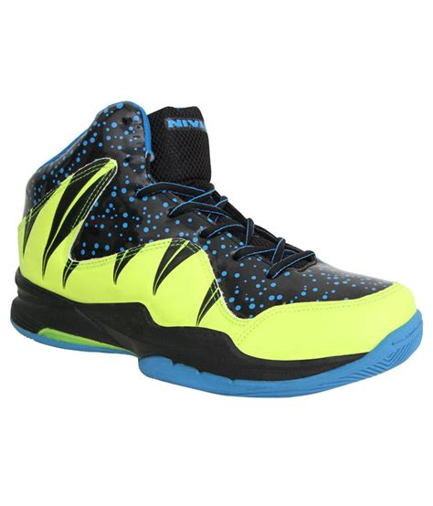nivia sport shoes nivia heat blue basketball sports shoes buy at