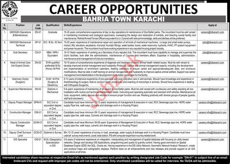 Http Careers Nestleusa Real Opportunities Mba Marketing by Career Opportunities At Bahria Town Karachi 2018 Pakistan