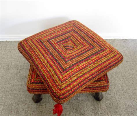 colorful ottoman colorful ottomans 28 images colorful trellis cube pouf