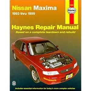 1995 Nissan Maxima Repair Manual Nissan Maxima 1993 1999 Haynes Repair Manual Read