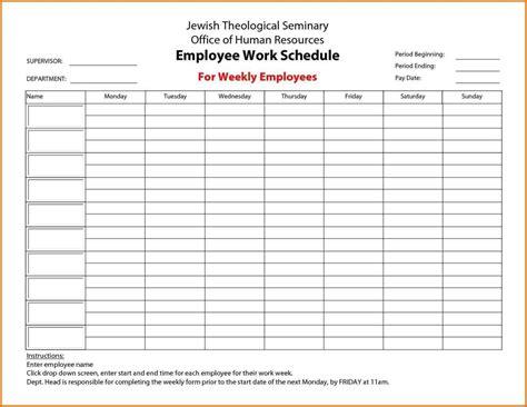 work calendars templates employee work calendars sle templates sle templates