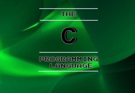 The C Programming Language - Unix & Technology Background ... C- Programming Wallpaper