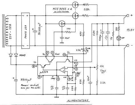 schema elettrico alimentatore switching schemi e circuiti di progetti elettronici per hobby per