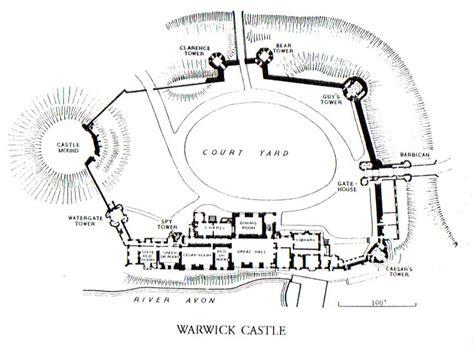 arundel castle floor plan warwick castle layout medieval blocky castles
