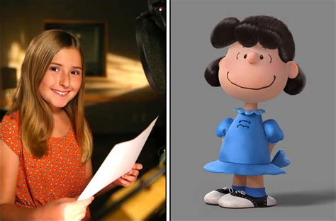 film lucy cast meet the voice cast of snoopy and charlie brown the