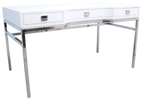 white desk mix and chic fabulous finds modern white desks in every price range