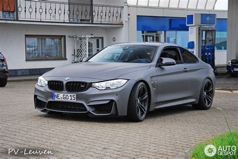 matte grey bmw bmw m4 in frozen gray matte with smoked lights