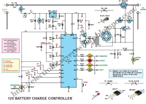 12v charge controller circuit diagram charging a car battery with computer power supply