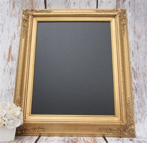 home interior framed gold framed chalkboard kitchen magnetic memo board home decor framed gold frame home office