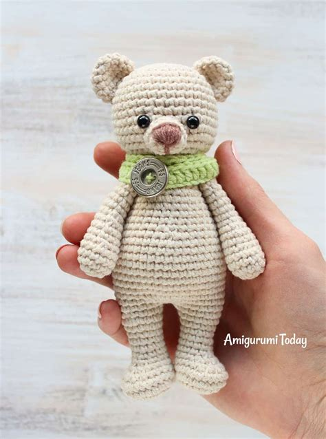 Charming Christmas Toys For Cats #6: Cuddle-me-bear-amigurumi-pattern.jpg