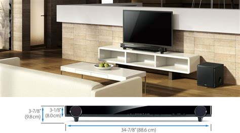 sound bar on top of tv yas 201 sound bars audio visual products yamaha