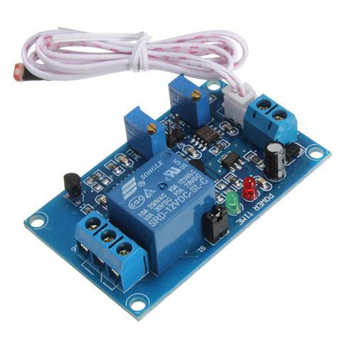 photoresistor relay 12v car light switch photoresistor relay module light detection sensor ebay