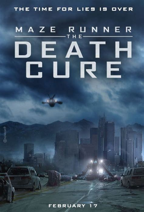 the maze runner movie poster fan made the maze runner maze runner the death cure fanmade poster the maze