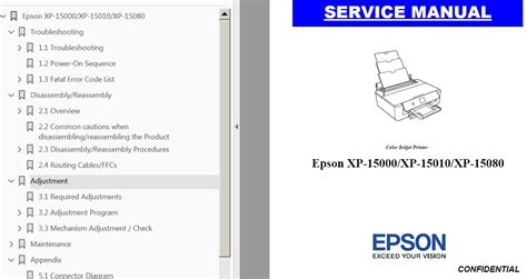 Epson Rx500 Multifunction Printers Accessory Owners Manual