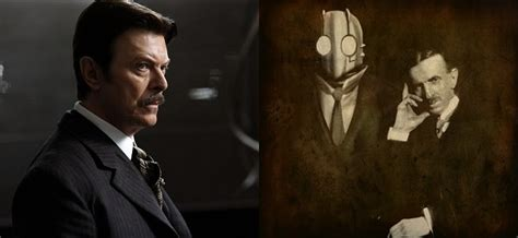 Nikola Tesla David Bowie Comic Atomic Robo The Major Spoilers