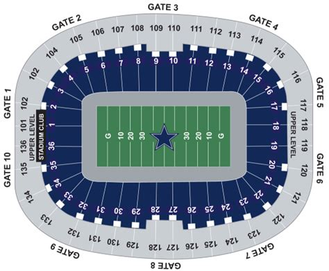 texas stadium seat map dallas cowboy seating chart cablestream co