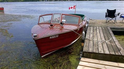 wooden boat for sale ontario muskoka boats for sale port carling boats antique