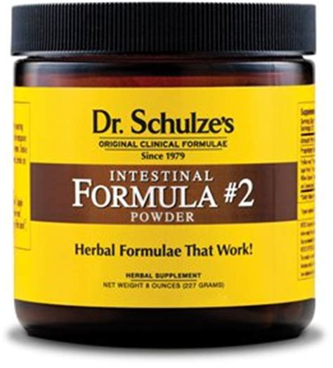 Dr Schulze Detox Program by Dr Schulze Intestinal Formula 2 Herbal Colon Bowel