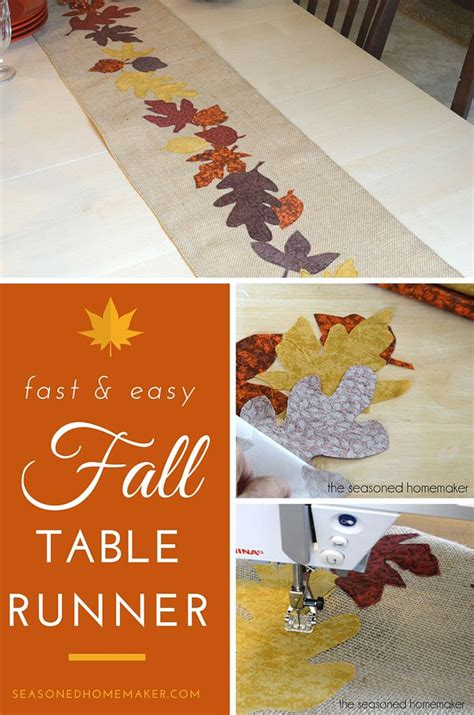 fall table runners to 1000 ideas about fall table runner on table