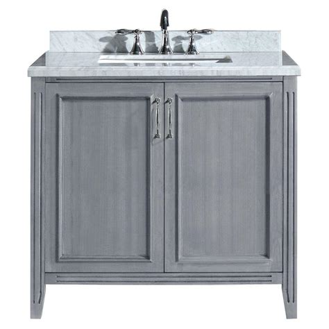 White Marble Vanity Top by Water Creation 24 In Vanity In Modern White With