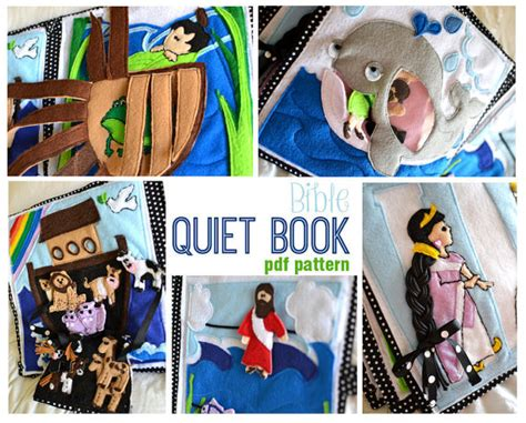 religious quiet book pattern bible quiet book pdf pattern from sommerfunstuff on etsy