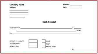 Receipt Of Money Template Cash Receipt And Payment Account Format In Microsoft Excel