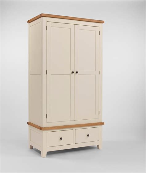 Wardrobe With Drawers by Eton Painted Wardrobe With 2 Drawers