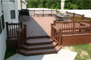 Back Porch Stairs Design 78 Best Images About Decks On Pits Deck Builders And Home Remodeling Contractors