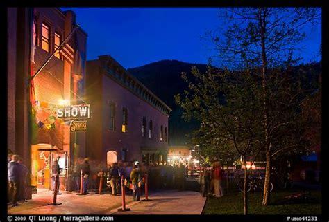 sheridan opera house picture photo sheridan opera house entrance by night