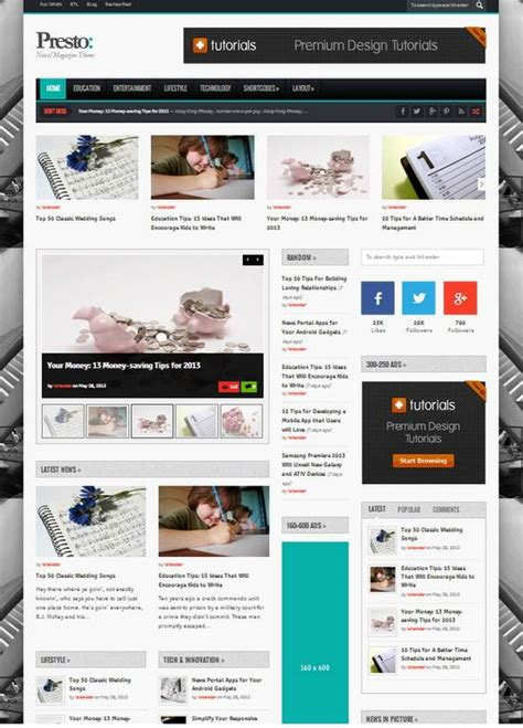 15 fresh responsive magazine wordpress templates ginva