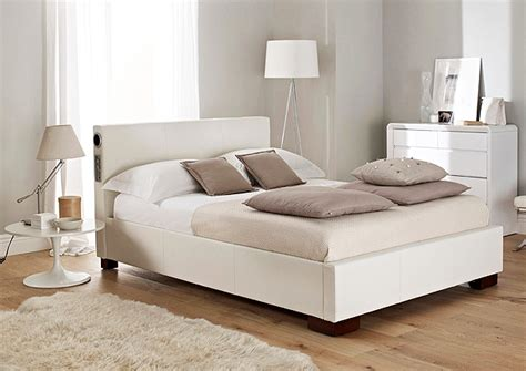 white leather bed beautiful white color leather beds by time4sleep freshnist