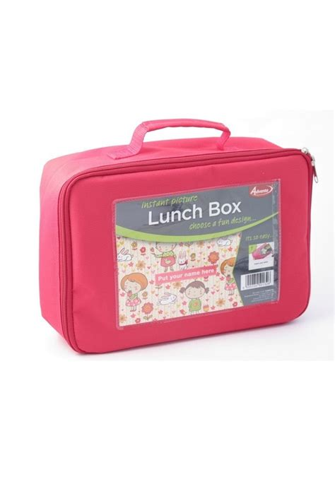 Lunch Box Polos Pink pink lunch box