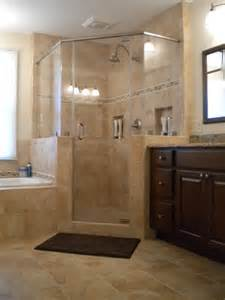 Bathroom Corner Shower Ideas Vienna Master Bath Shower Traditional Bathroom Other Metro By Synergy Design