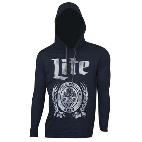 T Shirt Miller Lite miller lite sleeve hoodie tshirt