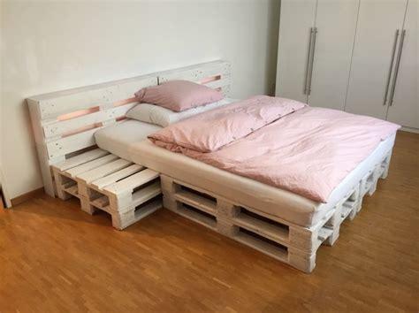 Bett Aus Europaletten Selber Bauen 140x200 by Die Besten 25 Palettenbett 140x200 Ideen Auf