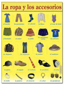 ropa y accesorios r1 7a actividad para practicar con